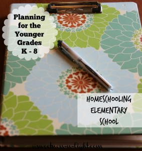 Homeschool Planning for the Younger Grades – Let's Talk Elementary
