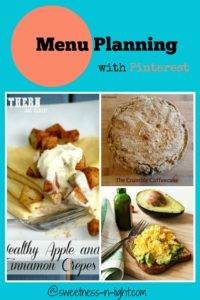 Menu Planning with Pinterest | Breakfast Favorites