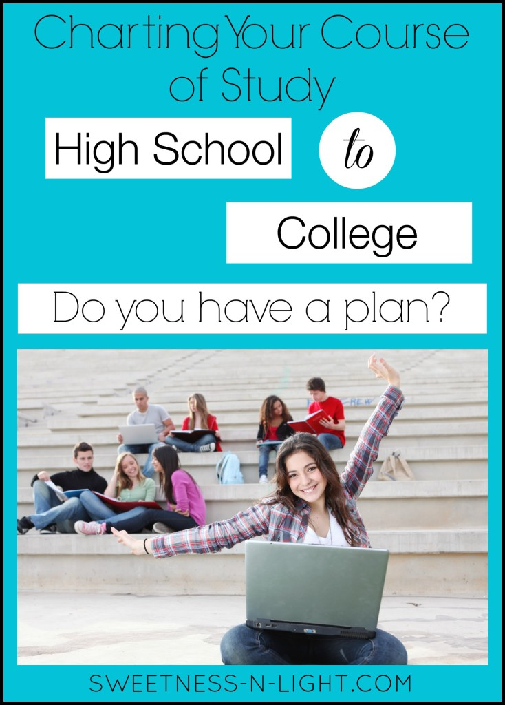 Charting A Course Of Study From High School To College