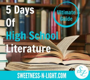5 Days of High School Literature – Ultimate Pinterest Guide