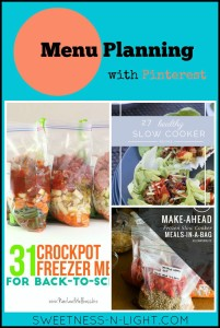 Menu Planning with Pinterest | In the Crockpot