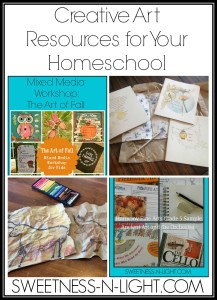 Art & Creativity Resources for Your Homeschool
