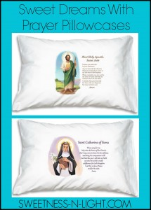 Sweet Dreams With Prayer Pillowcases
