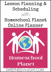 Lesson Planning & Scheduling with Homeschool Planet Online Planner