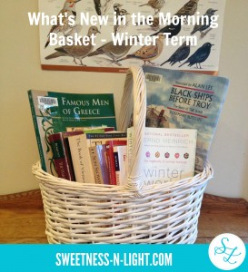 What's New in the Morning Basket – Winter Term 2016
