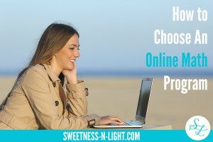 How to Choose an Online Math Program