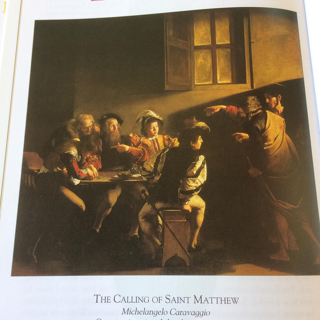 ST MATTHEW feastdays catholictraditions artappreciation callofstmatthew caravaggio homeschool 365homeschool ihsnet